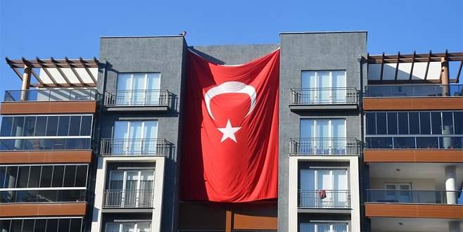 Şehidin Bursa'daki evinde yas var