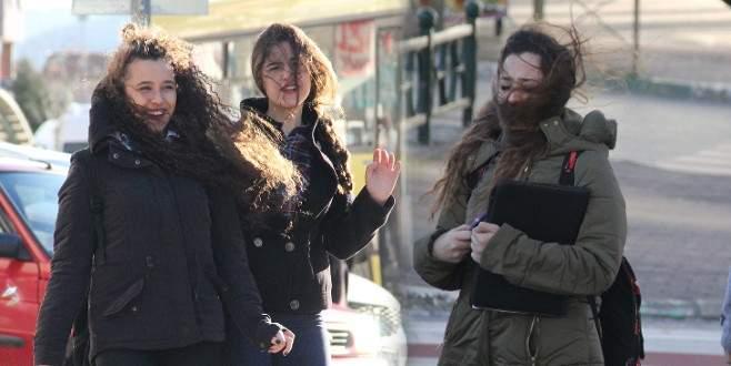 Lodos, Bursa'da hayatı olumsuz etkiliyor