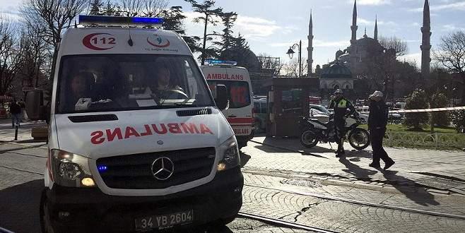 İstanbul Sultanahmet'te patlama: 10 ölü, 15 yaralı