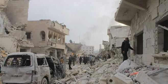 Hava saldırısı: 65 ölü, 140'a yakın yaralı