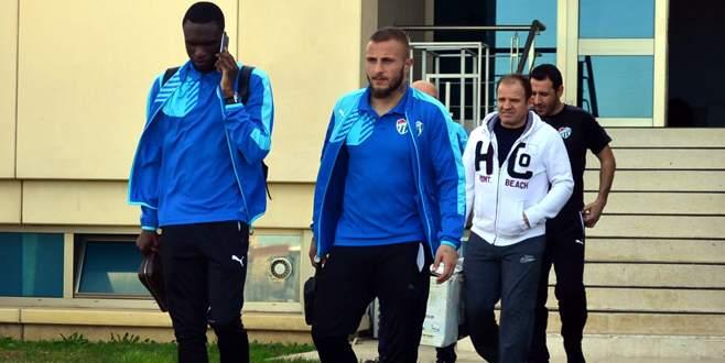 Aslar Bursa'da kaldı