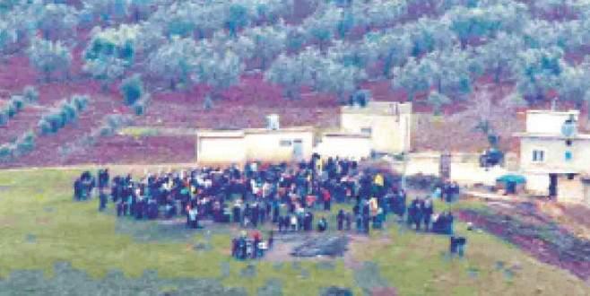 PYD'den sınırda alçak kutlama