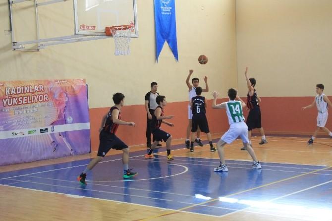 Karaman'da Basketbol Bölge Grup Müsabakaları Başladı