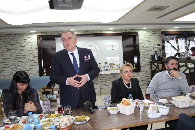 Bolu Belediye Başkanı Gazetecilerle Buluştu