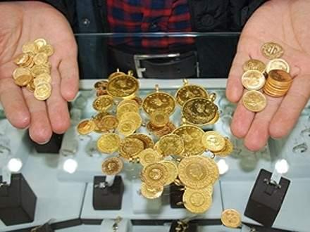 Altının gramı 104,9 liraya geriledi