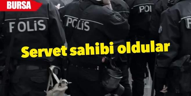 Sahte polislerden milyonluk vurgun