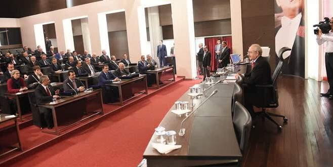 Kılıçdaroğlu, il başkanlarıyla bir araya geldi