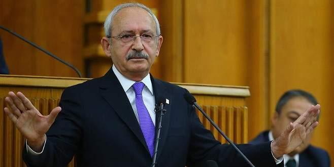 Kılıçdaroğlu'ndan TBMM Başkanı'na mektup