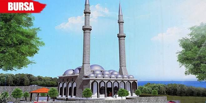 Çamlıtepe Camii temeli atıldı