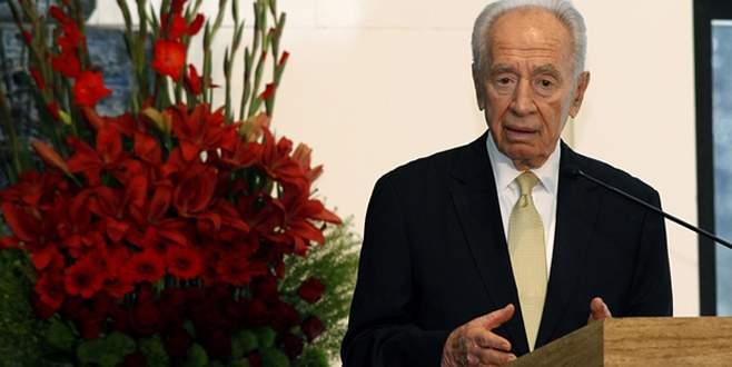 Peres'in kalbi tekledi