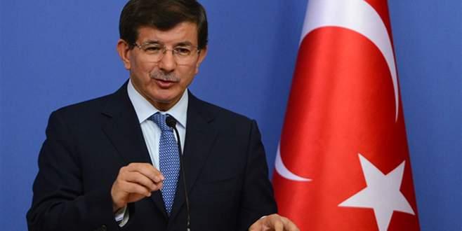Davutoğlu: Bildiride hiçbir terör örgütü yok