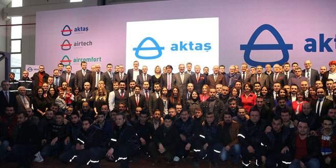 Aktaş Holding'in yeni tesisi açıldı
