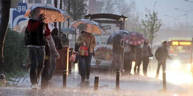 Bursa için kuvvetli yağış uyarısı