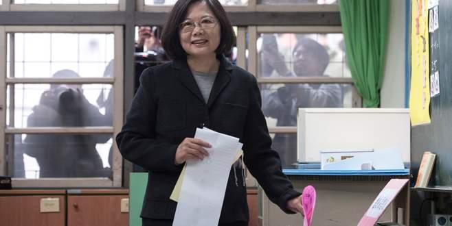 Tayvan'da ilk kadın başkan