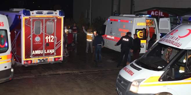 100 işçi hastaneye kaldırıldı