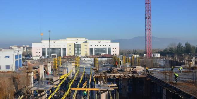 Modern kalp hastanesinin inşaatı hızla yükseliyor