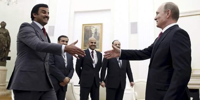 Katar Emiri ilk kez Rusya'da
