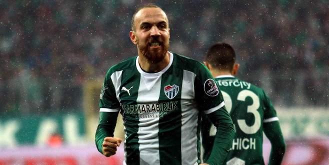 Sercan Yıldırım Bursaspor'da ilklere imza atıyor!