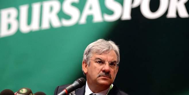Bursaspor delegeleri Recep Bölükbaşı yönetimini ibra etmedi