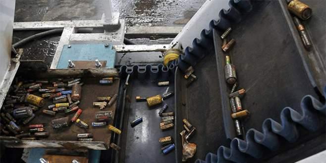 630 ton atık pil toplandı