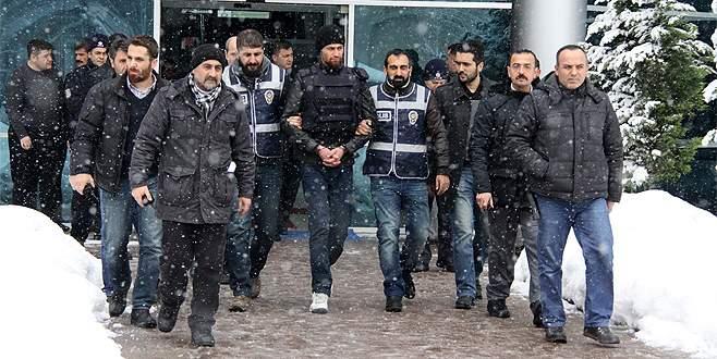 Bursa'da araç taranmasıyla ilgili sanıklar hakim karşısında