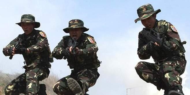 Çin'den Tayvan boğazında askeri tatbikat