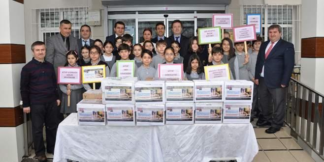 Öğrencilerden anlamlı kitap kampanyası