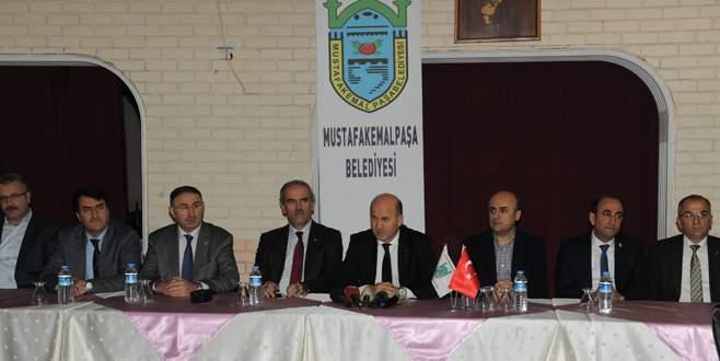Belediye başkanları MK Paşa'da buluştu