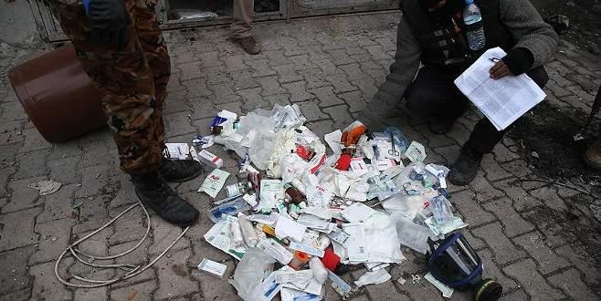 Cizre'de teröristlerin reviri ile gıda deposu bulundu
