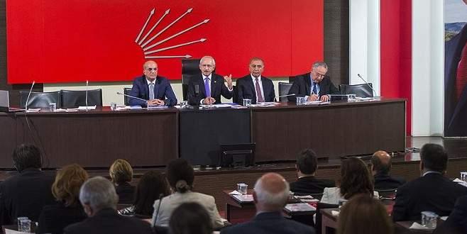 CHP'de yeni PM üyeleriyle ilk toplantı yarın