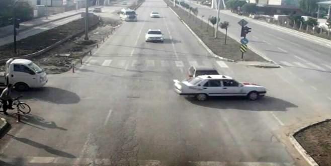 Bursa'da kazalar böyle görüntülendi!