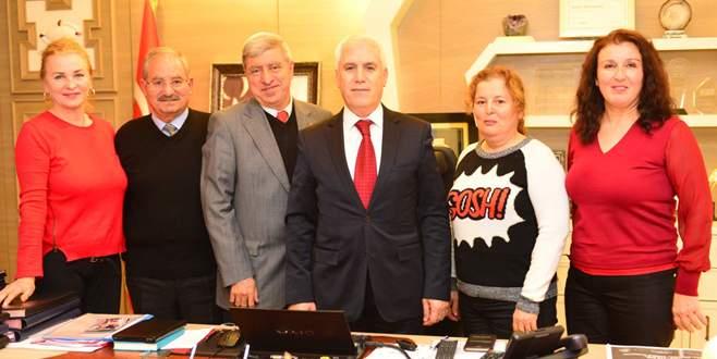 Emekliler'den Bozbey'e ziyaret
