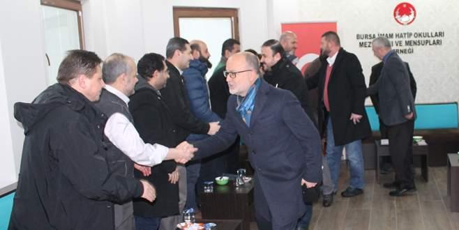 AK Parti Osmangazi'den BİHMED'e ziyaret