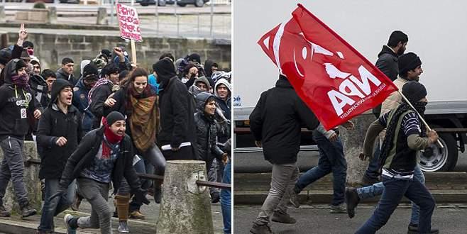 Calais'te şok ve dehşet!
