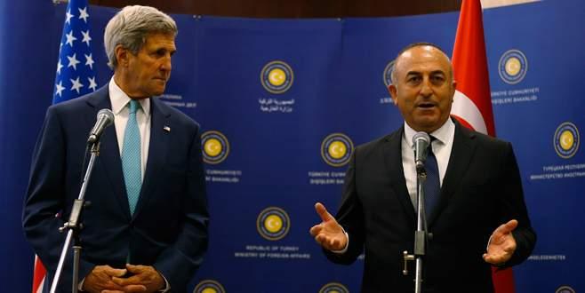 Çavuşoğlu ile Kerry telefonda Suriye'yi konuştu