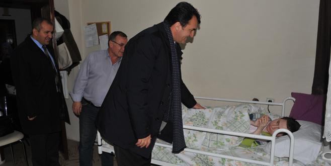 Dündar'dan hasta yatağı