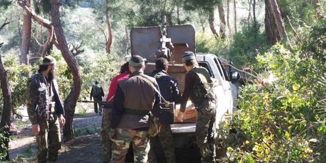 Suriye ordusu Türkmen bölgesinde