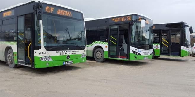 Bursa'da özel halk otobüsleri yenileniyor