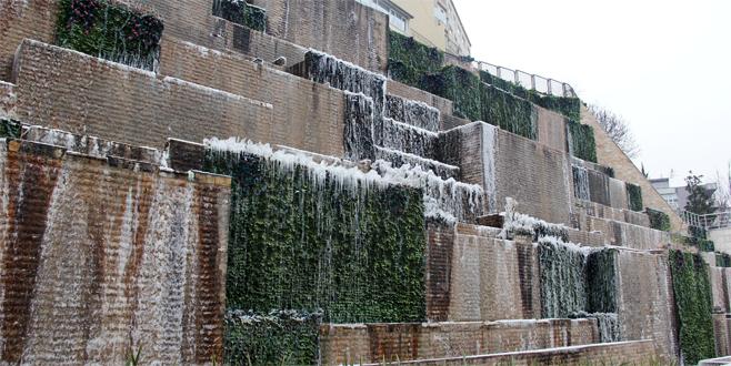 Soğuk hava Bursa'yı vurdu