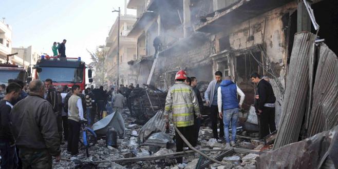 Humus'ta çifte bombalı saldırı: 22 ölü, 100 yaralı