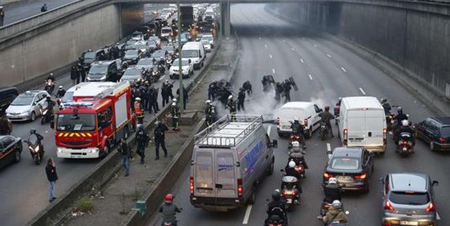 Fransa'da kaos