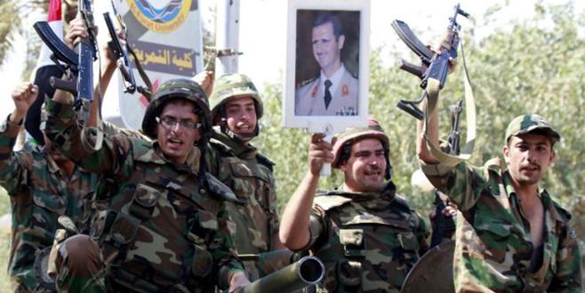 Suriye ordusu ilerliyor