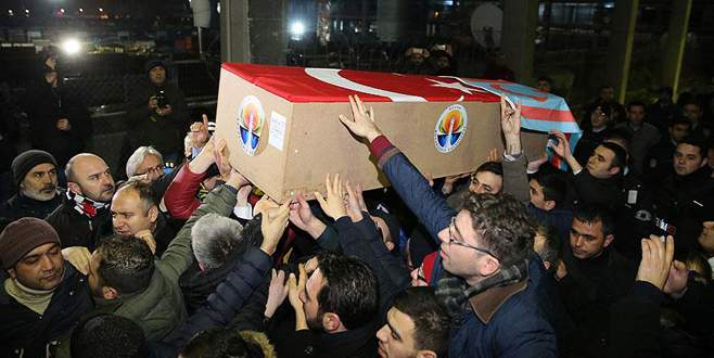 Suriye'de ölen MHP'li Küçük'ün cenazesi Türkiye'de