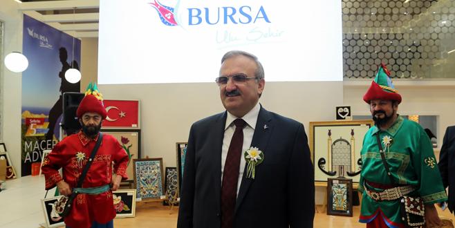 Bursa'nın tanıtım atağı hız kesmiyor