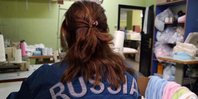 Rus bebeklerin vaftiz havlusu Bursa'dan