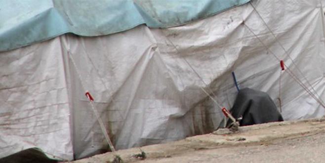 İki aylık Emine bebek çadırda ölü bulundu