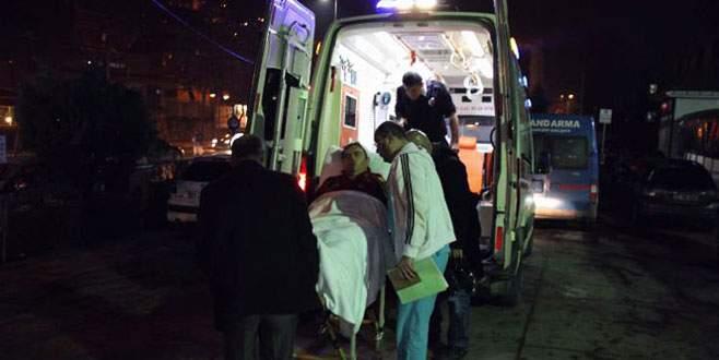 Polislere çekiçli saldırı! 5 polis yaralı