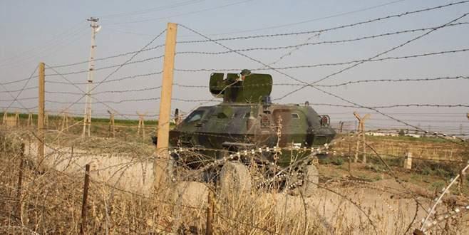 Sınıra yaklaşan araç imha edildi, 5 IŞİD'li öldürüldü