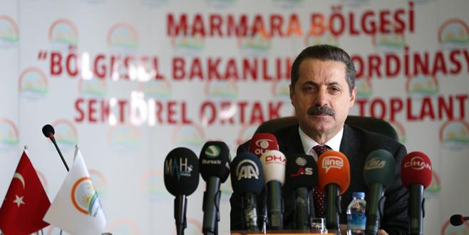 Tarım sektörü Bursa'da buluştu