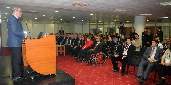 '1. Ulusal Engelliler Sempozyumu' başladı